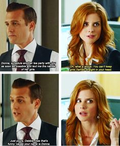 Suits    I love Harvey and Donna's relationship on Suits.