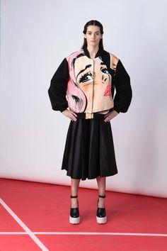 Marianna Senchina's Pop-Art Bomber Jacket