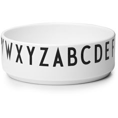 We bought two of these Design Letters Porcelain Bowls by Arne Jacobsen for food and water for our dog.