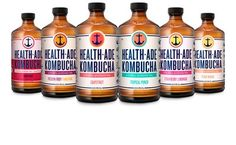 Health-Ade Kombucha Marks Innovation and Product Milestone, Launching Six New Flavors and New Packaging This Year Health Ads, Pink Lady Apples, Cold Pressed Juice, Amber Glass Bottles, Sweet Cherries, Strawberry Lemonade, Whole Foods Market, New Flavour, Low Sugar