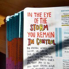 New Bible, Bible Art, Bible Verses, Bible Studies For Beginners, Eye Of The Storm, Bible Notes, Illustrated Faith, Bible Journal, God Jesus