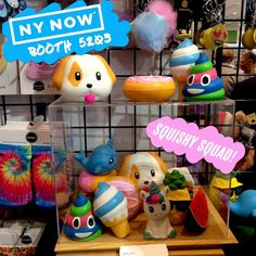 Day 2 of #nynow #giftshow! Booth #5203 Stop by our booth to check out our jumbo #squishies and other new products! #toptrenz #javitscenter #nynow2017 #javits #nyc #tradeshow