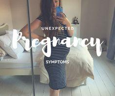Unexpected pregnant symptoms! #pregnancy #pregnancysymptoms