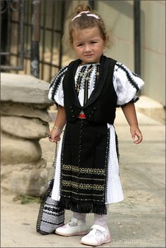 Little Romanian Girl