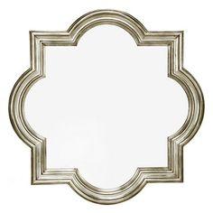 Quatrefoil Mirror Muebles Home, Wall Mirrors For Sale, Silver Wall Mirror, Mirror Mirror, Redo Mirror, Floor Mirrors, Hallway Mirror, Entry Foyer, Front Entry