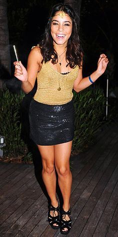 VANESSA HUDGENS ...i have an outfit like this!!! twinsies!!! :)