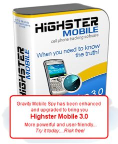 GravityMobileSpy Text messages, call recordings, call logs…all sent from the target phone right to YOUR email, cell phone or online web account...INSTANTLY!