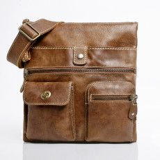 Very simliar to the one I own. I am 100% in love with mine - I have had it for years. When the day comes when I need to replace it - it will be with another Roots leather crossbody bag.