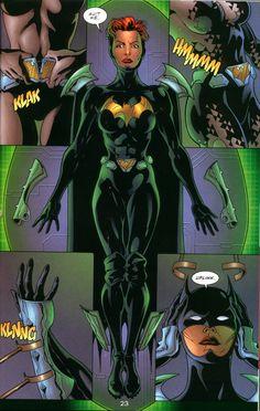 Barbara Gordon as Batgirl in Elseworld's Finest: Supergirl & Batgirl. Batwoman, Dc Batgirl, Nightwing, Comic Book Characters, Comic Character, Comic Books Art, Female Characters, Gotham, Cosplay Dc