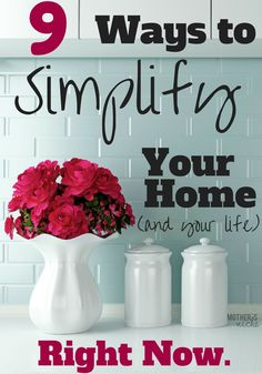 Simplify your home with these 9 powerful tips. Peace shall abound and angels above will sing and praise your new behaviors and your simplified life.