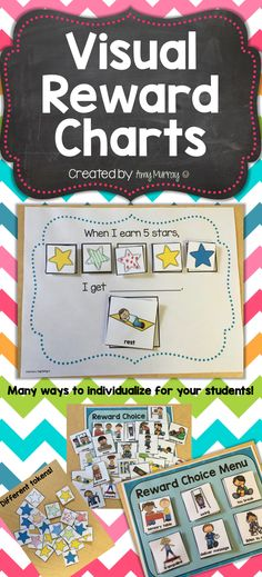Visual Reward Choice Menu Great for students with autism! Amy Murray - Teaching Exceptional Kinders