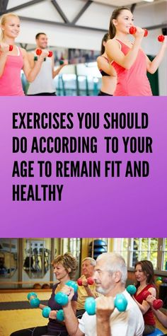 Exercise According To Your Age And Stay Healthy - Bulk Loss Diet Herbal Remedies, Health Remedies, Natural Remedies, Cramp Remedies, Health Facts, Health Diet, Colon Health, Health Care, Wellness Fitness