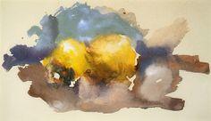Robert D'Arista Paintings 1949-56. Watercolor, 1956.