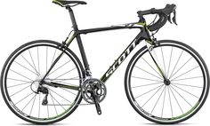 The Scott CR1 20 Compact 105 carbon road bike...