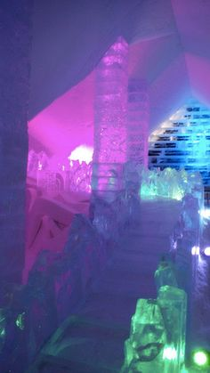 Slide!!!  In an Ice Hotel!  13 Ridiculously Cool Buildings Made of Ice