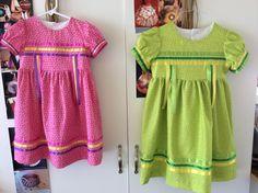Pow wow ribbon dresses. By Pita Macias