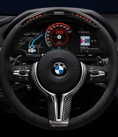 BMW Car Dashboard Design concept by Denys Nevozhai