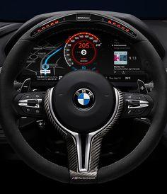 BMW Car Dashboard Design concept by Denys Nevozhai