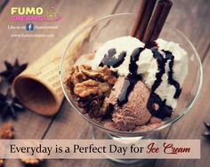 #FumoCreams - Everyday is a perfect day for ice cream!! #IceCreamParlourInDelhi #SmokeIceCream #ColdRollIceCream #IceCrreamShakes #LiquidNitrogenIceCream