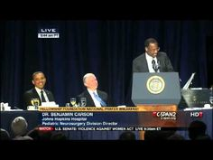 Dr. Benjamin Carson's Amazing Speech at the National Prayer Breakfast wi...We need a godly man back in the White House.  Not Democrat not Republican just get America.  Need to get  back to the beginning that this country was found on freedom of religion.