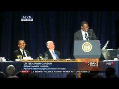 VIDEO: Dr. Ben Carson Speaks Truth to Power at National Prayer Breakfast