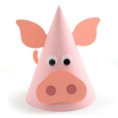 Silhouette Design Store - View Design #152578: farm cow party hat