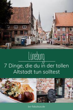 Lüneburg ist eine super schöne Altstadt im Süden von Hamburg und ich teile heute einen Spaziergang mit 6 tollen Dingen, die ich jedem empfehlen kann in Lüneburg zu tun mit euch! #lüneburg #deutschlandreise #reisetipps