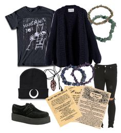 """""""Young Witch"""" by averina6801 ❤ liked on Polyvore featuring Represent and I Love Mr. Mittens"""