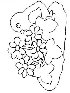 Chick coloring page 18