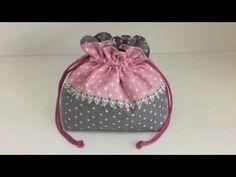 Coudre un petit sac pochon pour bébé Couture Madalena - YouTube