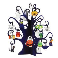 ミニツリー ハロウィン (お化けの木) - ハロウィン - パーティー&イベント - ペーパークラフト - キヤノン クリエイティブパーク