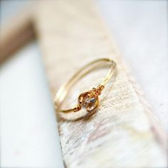 Promise ring - I may just buy this for myself. ha!