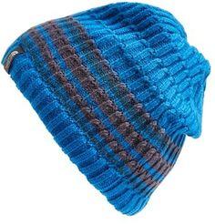 €27, Blaue horizontal gestreifte Mütze von The North Face. Online-Shop: Nordstrom. Klicken Sie hier für mehr Informationen: https://lookastic.com/men/shop_items/101076/redirect