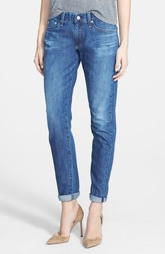 AG 'Nikki' Relaxed Skinny Jeans (12Y Icebound) available at #Nordstrom SIZE 28