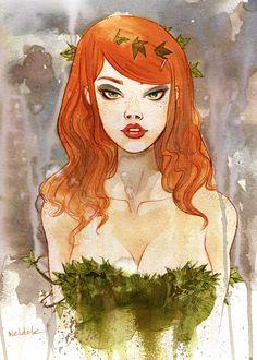 birdstump: Ivy, by Brett Weldele