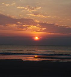 Just beautiful!  Ormond Beach, FL. at Sunrise by wunderbits on Etsy, $10.00