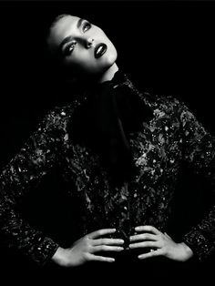 ARIZONA MUSE BY HEDI SLIMANE for Vogue Russia -December 2011