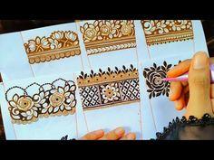 Rose Mehndi Designs, Latest Henna Designs, Basic Mehndi Designs, Stylish Mehndi Designs, Henna Art Designs, Mehndi Designs For Girls, Mehndi Designs For Beginners, Mehndi Design Photos, Wedding Mehndi Designs