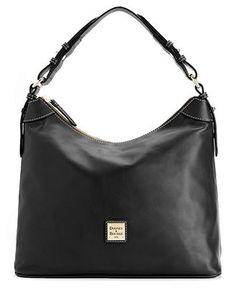 Dooney & Bourke Handbag, Leather Hobo - Dooney & Bourke - Handbags & Accessories - Macy's
