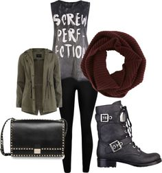 """soft grunge"" by lecron ❤ liked on Polyvore"