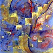Susan Will - Staircases, pastel