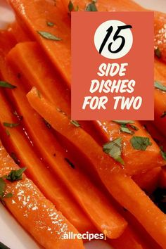 "15 Side Dishes for Two | ""Having side dishes can really make a meal feel well-rounded. But if you're only cooking for two, it's easy to have mountains of leftovers when your side dish is meant for serving a larger crowd."" #thanksgiving #thankgivingrecipes #thanksgivingsidedishes Potato Hash Recipe, Sweet Potato Hash, Sweet Potato Casserole, Baked Butternut Squash, Acorn Squash Recipes, Recipe Creator, Rich Recipe, Glazed Carrots, Cooking For Two"