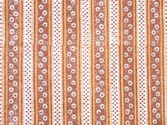 The original fabric is a lining in a cape made from bluish green wool damask. The museum bought the cape 1909 from the farm Løvhaugen in Hedmark, Rendalen, Norway. The lining is block printed in brown and golden yellow on white cotton of medium quality. The print can be dated to 1810-20, but the place of manufacture is unknown. The wool damask in the cape is English, produced in Norwich. These splendid capes were worn by wealthy farmer's wives at church and festivities. Cotton prints of this…