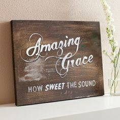 Amazing Grace - Gallery Wrapped Canvas