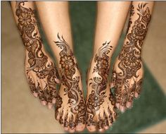 Latest Mehndi Designs | Latest Mehndi Designs for Foot - Bridal New Mehndi Pictures for Diwali ...