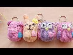 Mini-iligurumi En Un Huevito Kinder #1 - YouTube Crochet Baby Poncho, Crochet Case, Crochet Toys, Crochet Keychain, Bullet Journal Art, Crochet Slippers, Amigurumi Doll, Diy Projects To Try, Flower Crafts