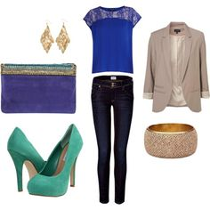 Blues and neutrals