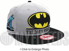 42ca42d02d5 Batman Hero Underline Placid Grey Maize Yellow Jet Black New Era Snapback  UP NOW ON MYFITTEDS
