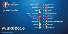 Los próximos partidos de #euro2016:
