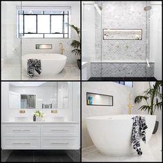 We bow down to you Queens of the Bathroom @juliaandsasha!  #9theblock #bathroom #bathroomdesign #bathroominspo http://ift.tt/2flKwnc